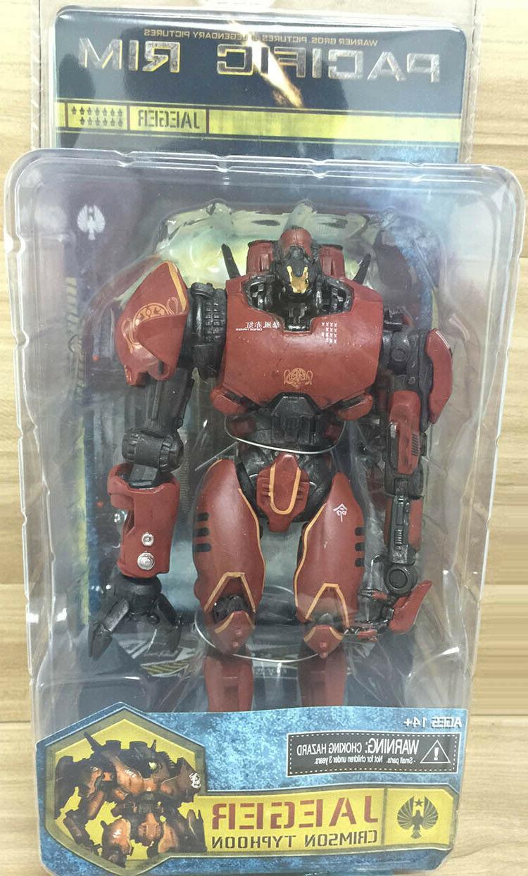 Jaeger Action Figure Red Robot