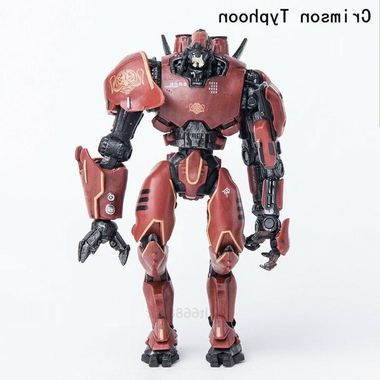Pacific Jaeger Crimson Action Red Robot