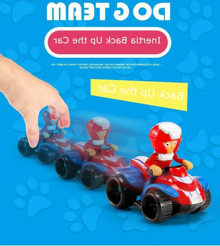 Model 9 Pieces Vehicles Set Kids Mini Toys