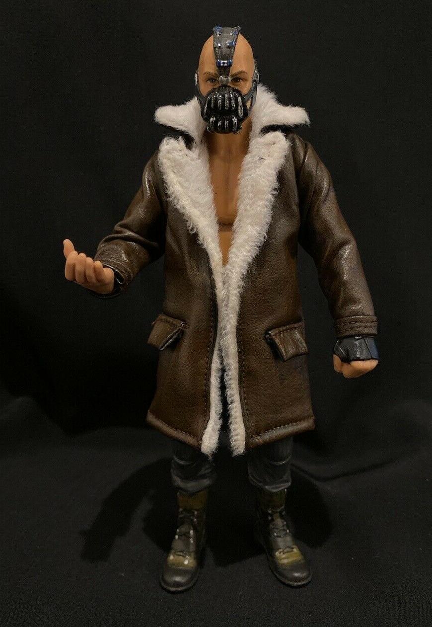 PB-LTC-BANE: 1/12 Coat for Mafex, Legends, Mezco, Mattel