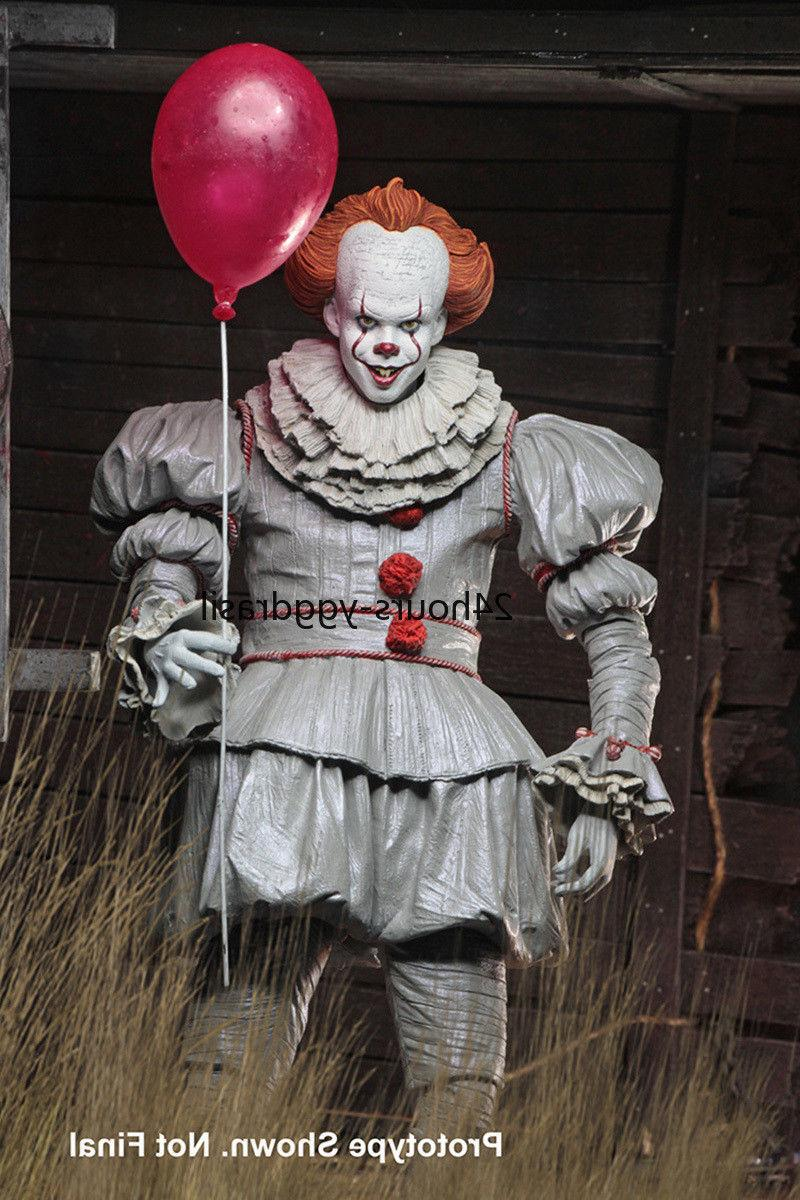 """Pennywise Ultimate Pennywise NECA 7"""" Figures"""