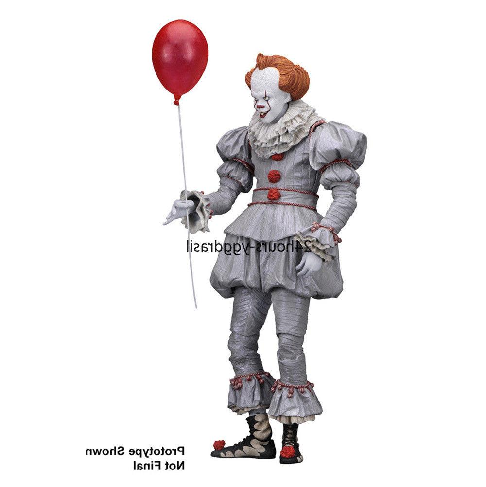 """Pennywise Action Figure Ultimate Pennywise Clown NECA 7"""""""