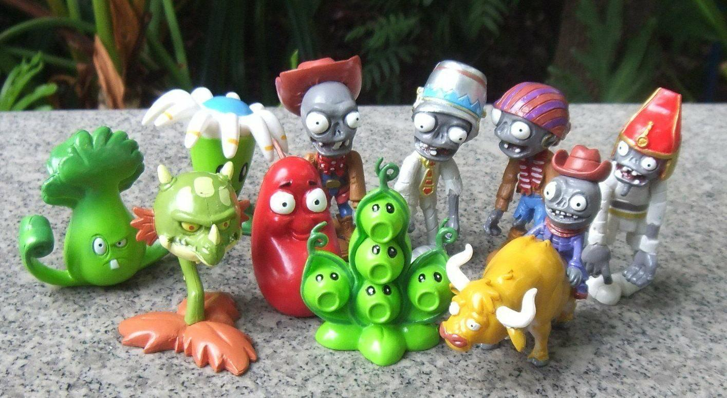 plants vs zombies 2 pvc 10x toy