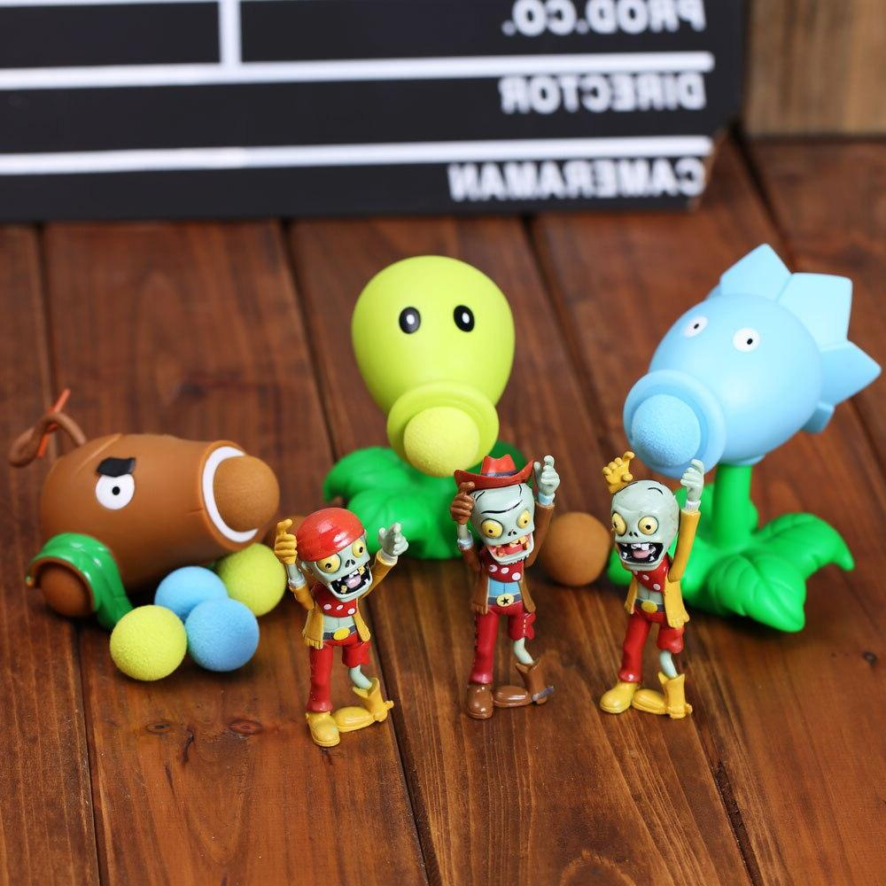 Plants Zombies <font><b>Figure</b></font> Children Parent-Child Interactive Toy Shooter Gifts