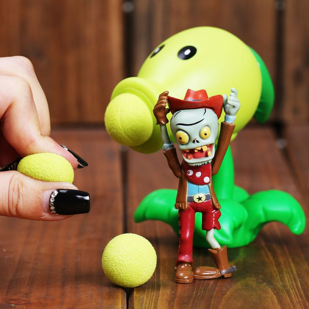 Plants vs Zombies <font><b>Figure</b></font> Parent-Child Shooter Chilli Birthday Gifts