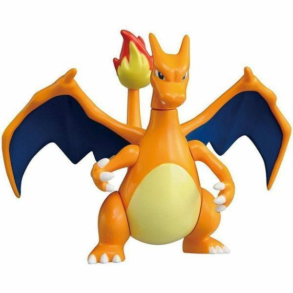 pocket monster pokemon metacolle charizard action figure