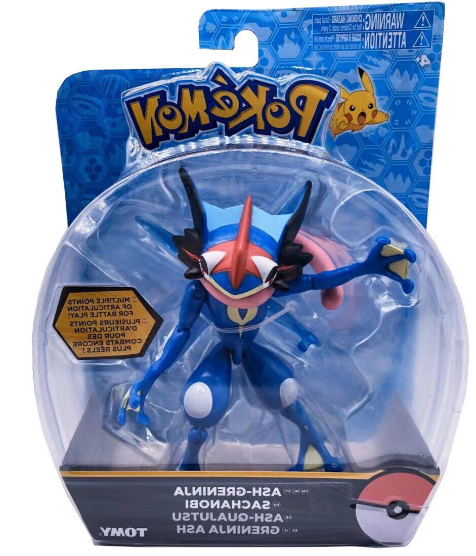 pokemon action figure ash greninja perfect