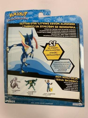 Pokémon Greninja 6 Action