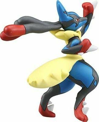 Pokemon Monster Collection MEGA LUCARIO Uppercut Figure TAKARA TOMY