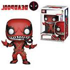 pop deadpool red venom action figure toy