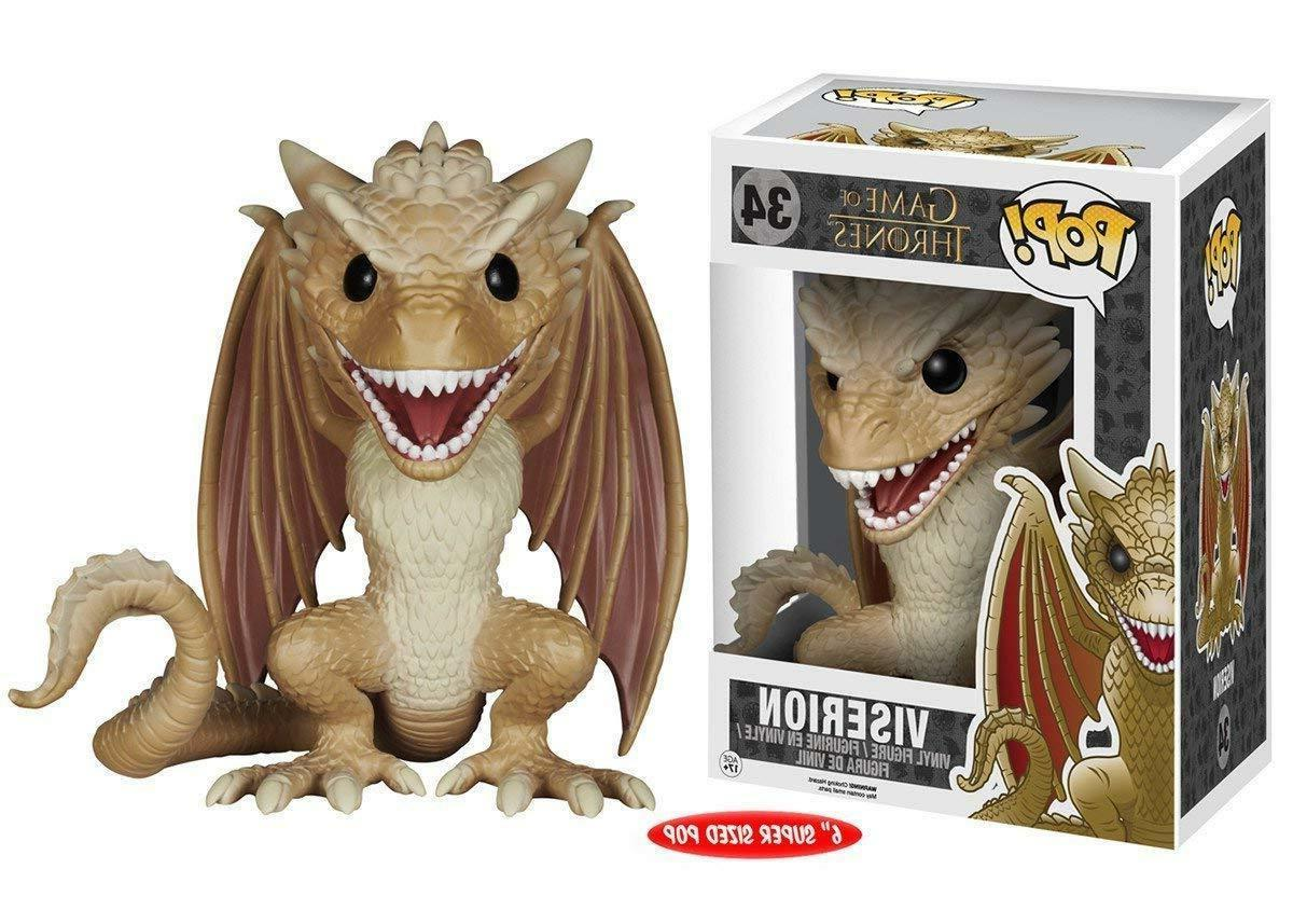 pop game of thrones viserion 6 action