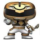 ❤ Funko Pop Television Power Rangers Action Figure White E