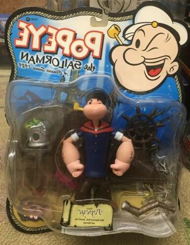 popeye the sailorman action figure by 2001