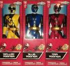 Power Rangers Ninja Steel 12-Inch Figures: Red, Blue, & Yell