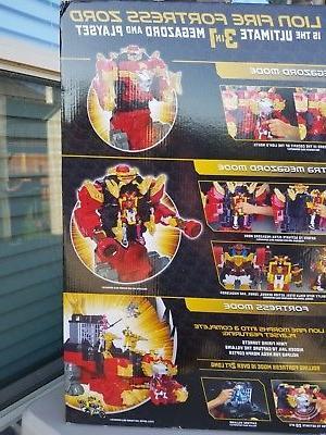 Power Rangers Ninja Lion Fire Fortress Zord 20 Figure Playset