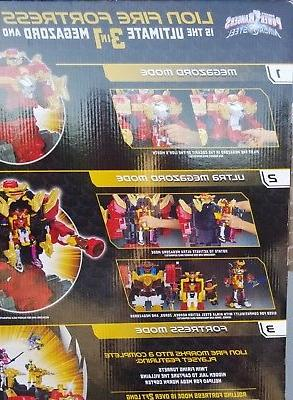 Power Rangers Steel Lion Fortress 20 Playset