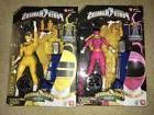 "Power Rangers Zeo Pink & Yellow Legacy 6.5"" Action Figures B"
