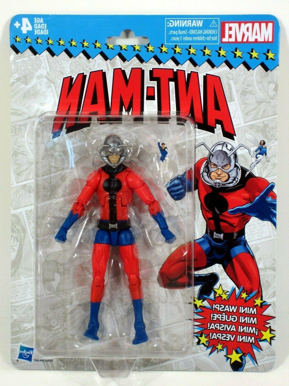 PRE ORDER! HASBRO Marvel Legends Vintage Ant-Man 6-Inch Acti