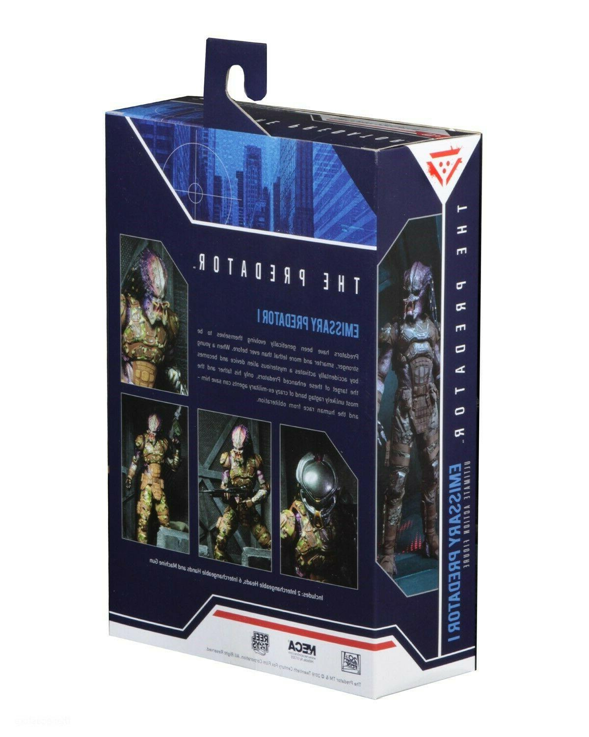 Predator Scale Action Figure - Ultimate Emissary #1 - NECA