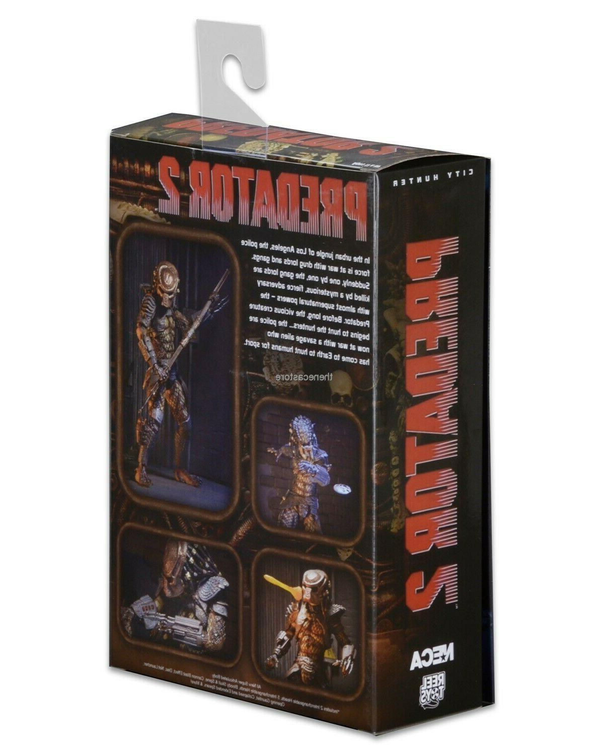 "Predator 7"" Scale Action Figure Ultimate City -"