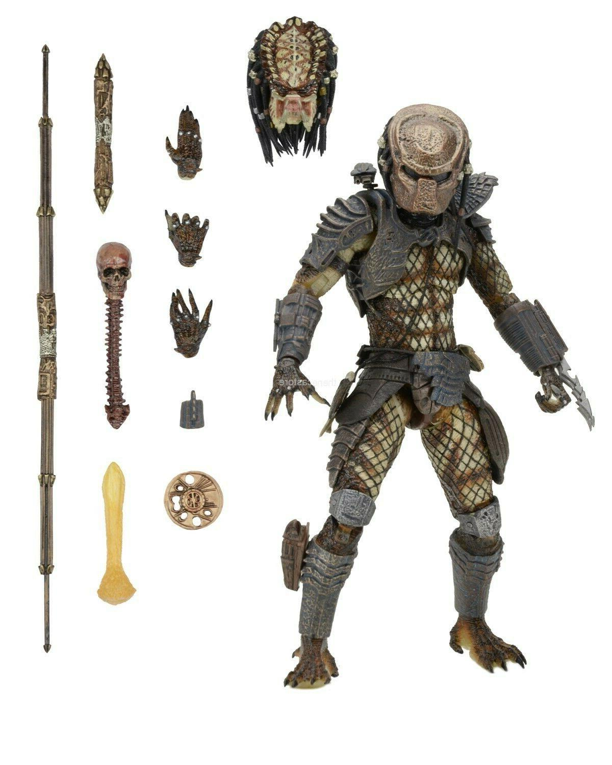predator 7 scale action figure ultimate city
