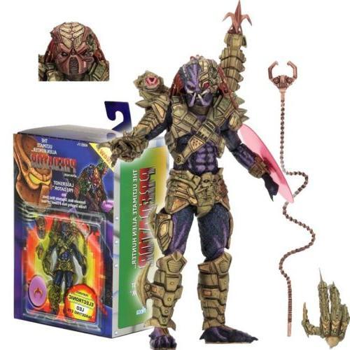 predator 7 scale action figure ultimate lasershot