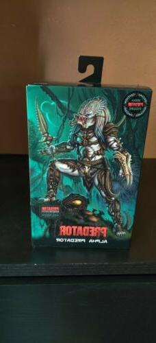 NECA Predator Ultimate Alpha 100th Edition 7 Inch Scale Acti