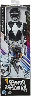 Power Rangers PRG 12 IN MMPR Black Ranger new toy 07/2020