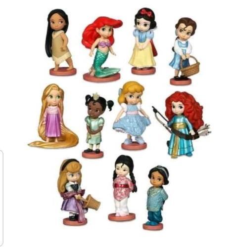 Disney Princess Deluxe Piece Figurine Set