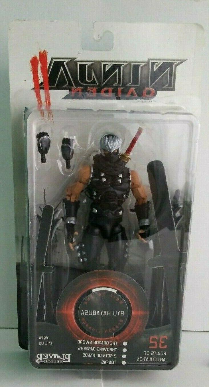 rare ninja gaiden ayu hayabusa action figure