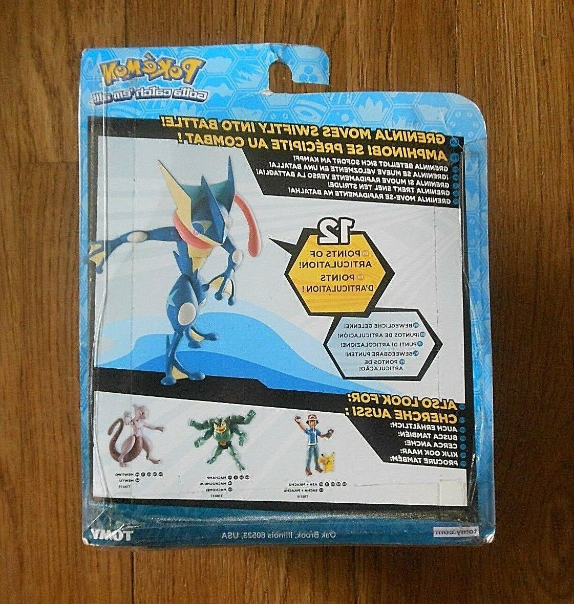 Rare Pokemon GRENINJA 2015 Action Figure NEW Tomy
