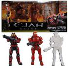 HALO REACH 4 -INFECTION 3-PACK- SPARTAN HUMAN & ZOMBIES