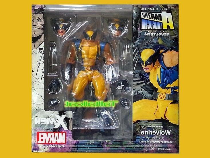 Kaiyodo Revoltech X Marvel X-Men Wolverine AMAZING YAMAGUCHI
