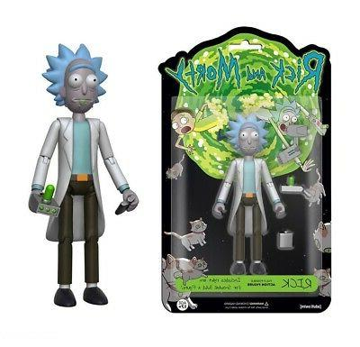 rick and morty rick fully posable action