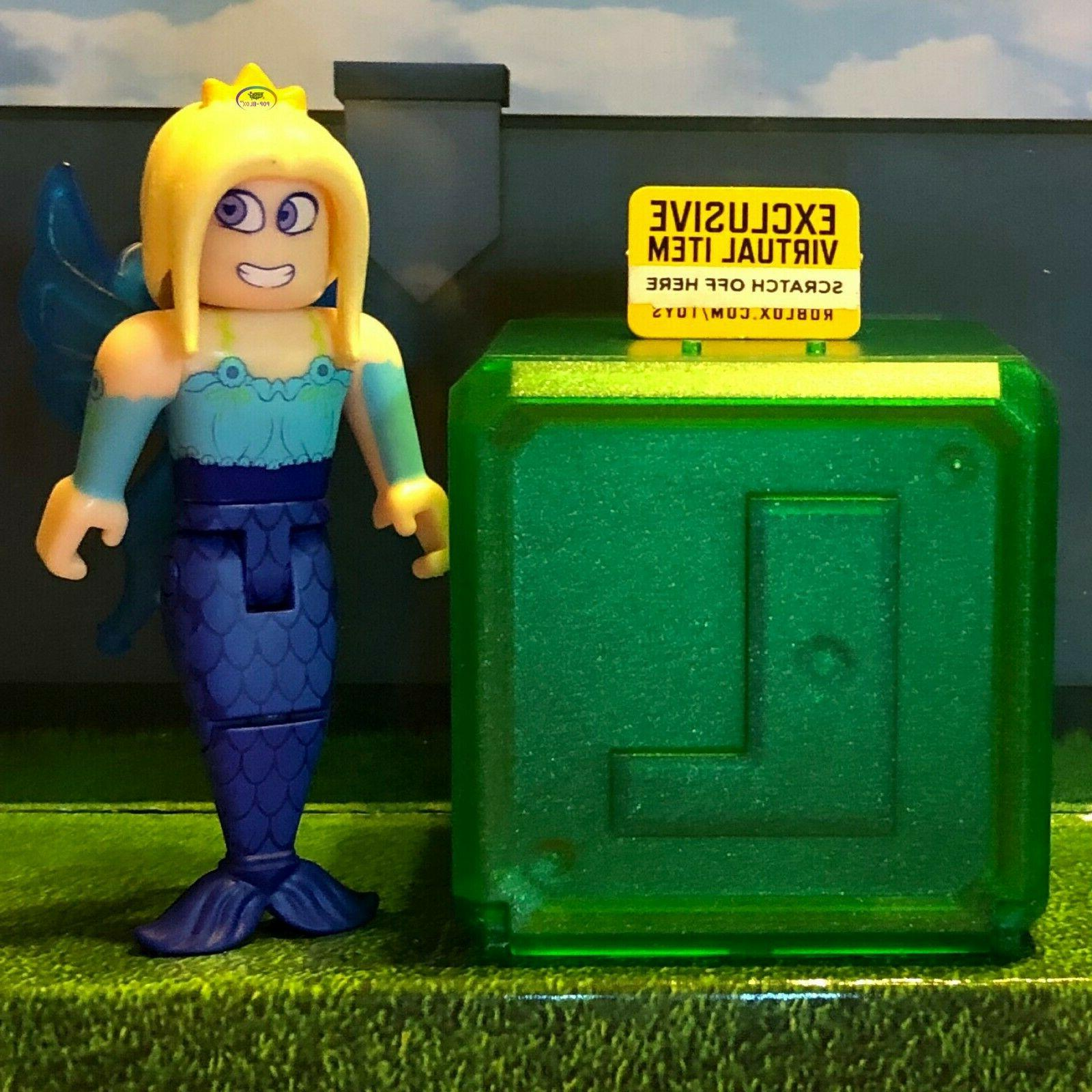 Roblox Celebrity NEW! Action Figures GREEN Kids Toys Pack+Codes