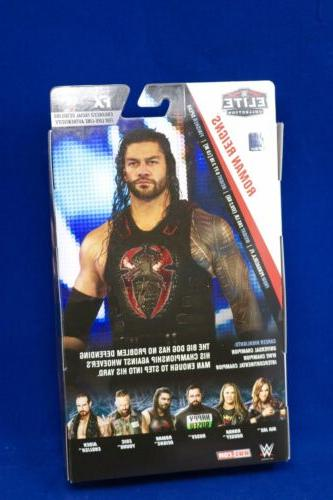 WWE Reigns Elite Collection Figure MATTEL IN NOW!