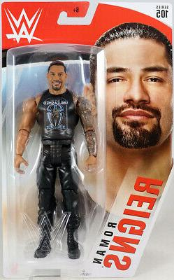 Roman Reigns - WWE Series 105 Mattel Toy Wrestling Action Fi