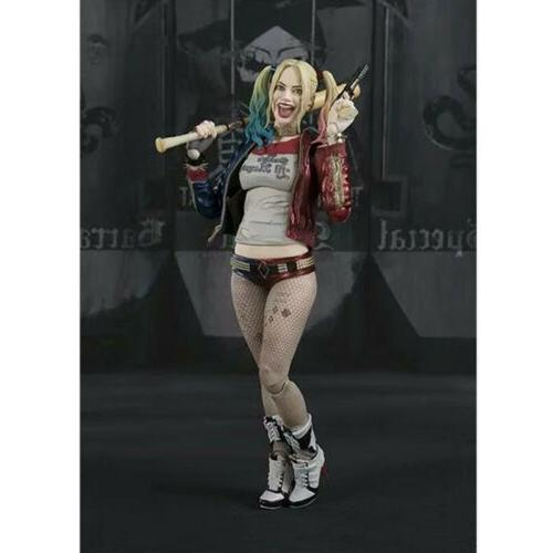 "S.H. Figuarts SHF Suicide Squad 6"" PVC Action New In Box"
