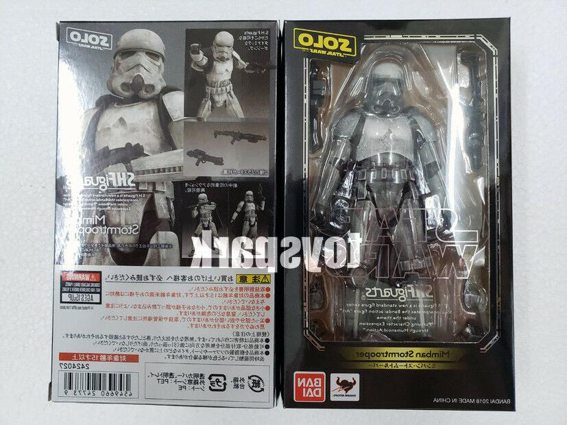 BANDAI S.h. figuarts Solo a Star Wars Story MIMBAN STORMTROO