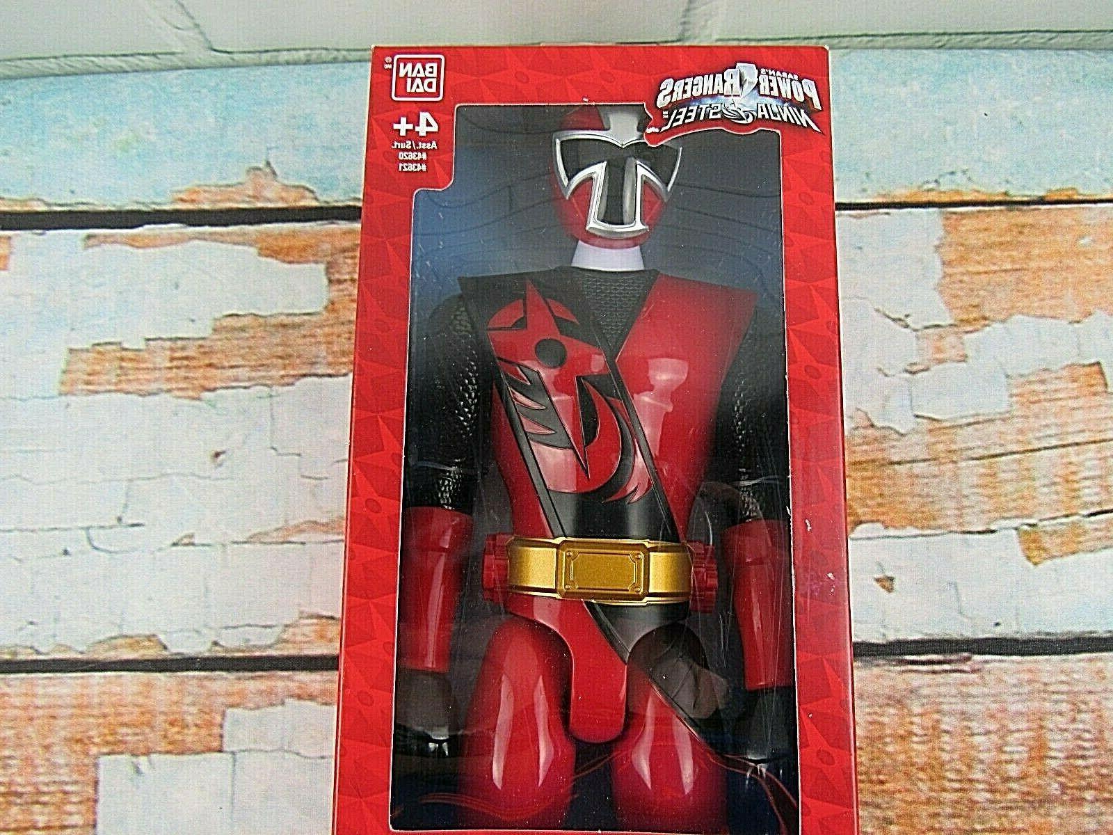 "Saban's Power Rangers Ninja Steel 12"" Tall Action Figure Age"