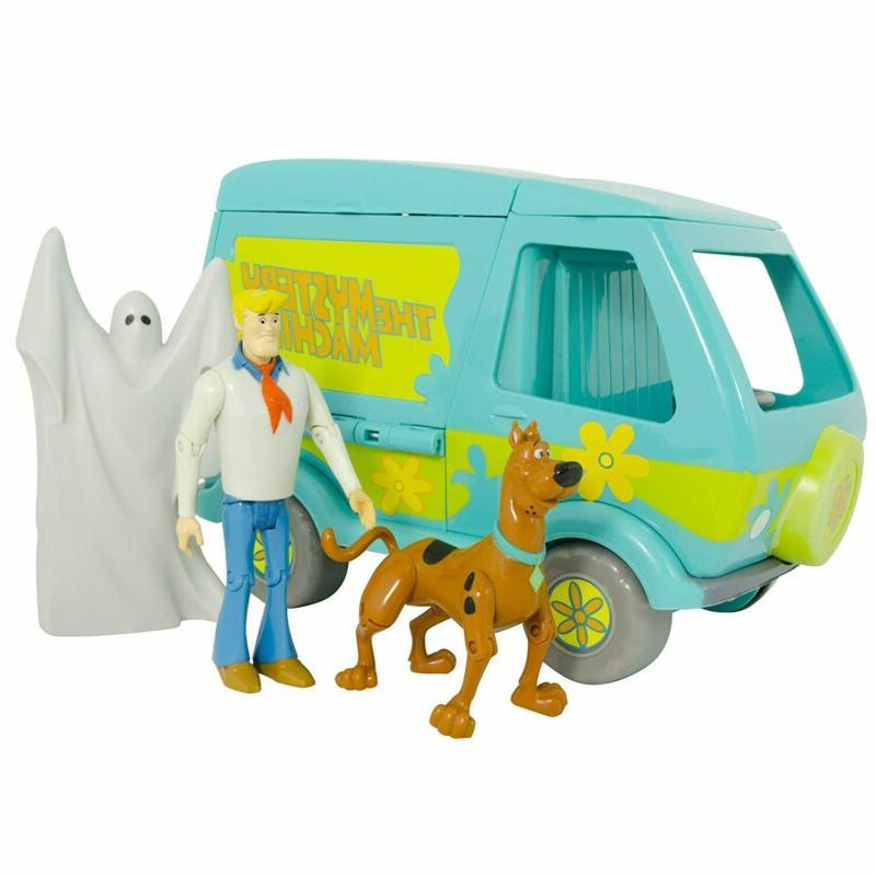 Scooby Doo SCD60663 Toy Playset with Action Figures, Multico