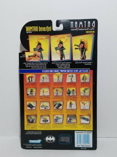 Sealed Batman Animated Series Infrared Batman Action