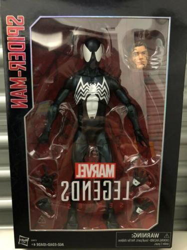 series 12 inch symbiote spider man action