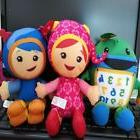 Set of 3 TEAM UMIZOOMI Bot MILLI Geo Plush 8 Inch Doll Fishe