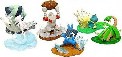 Pokemon Set of 6 Action Battlers Mini Figures