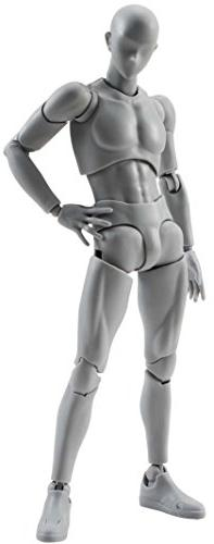 SH Figuarts Man DX Gray Action Figure Set