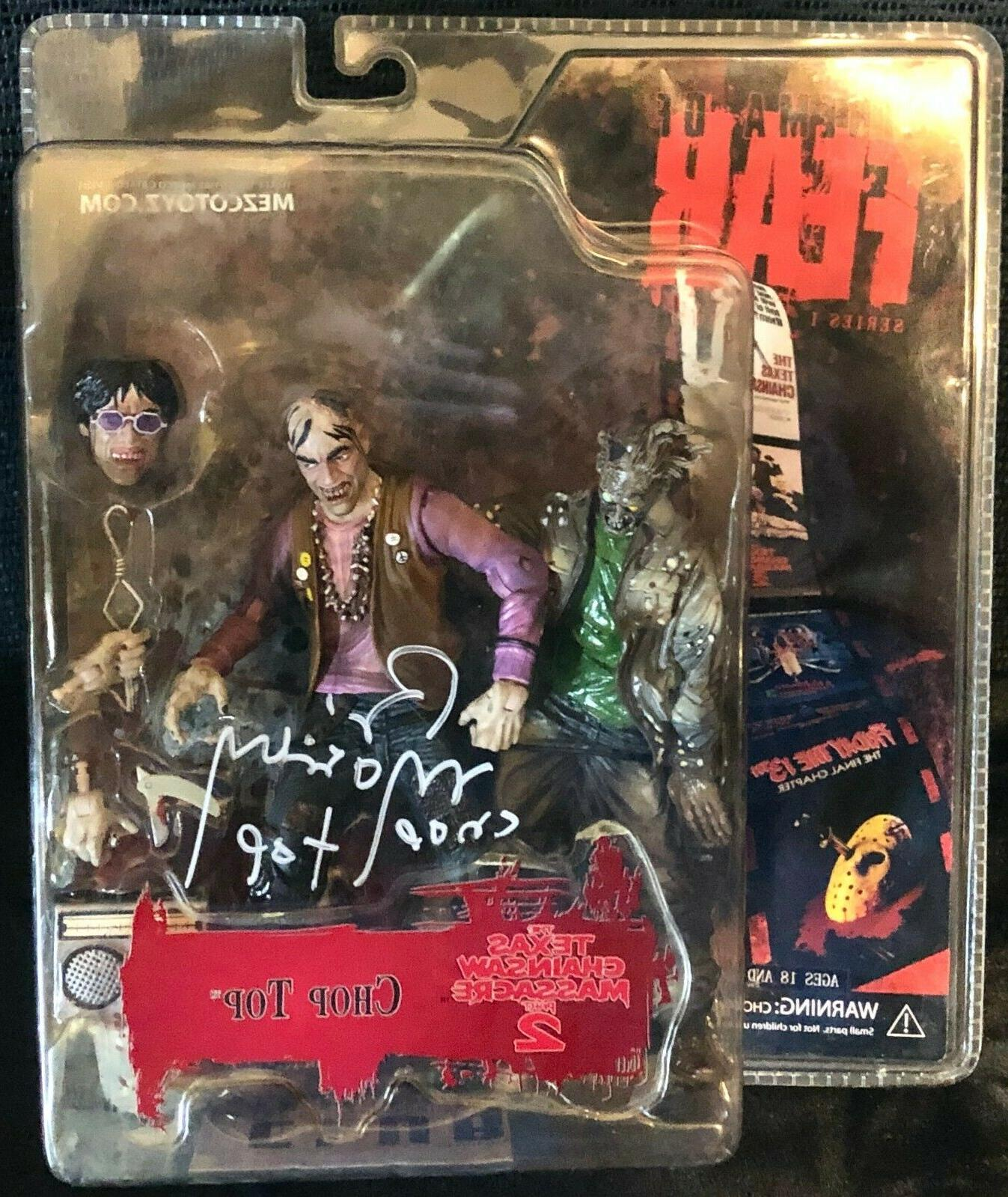signed bill moseley cinema of fear chop