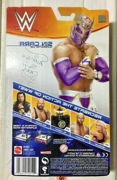 SIN Basic 48 Wrestling MOC Lucha AAA