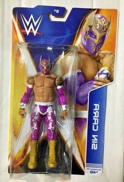 sin cara wwe basic 48 wrestling figure