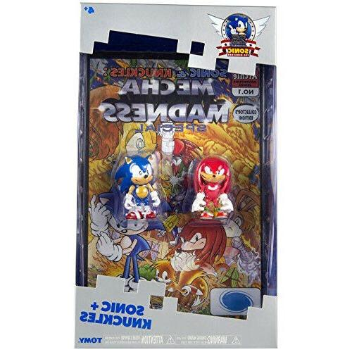 Sonic 25th Anniversary 3 inch Action Figure with Comic Book